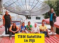 TBN Satellite in Fiji