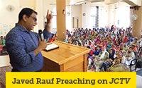 Javed Rauf Preaching on JCTV.