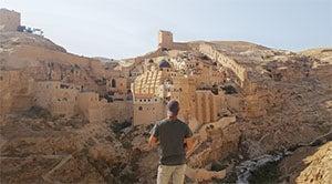 Mar Saba Monastery near Bethlehem