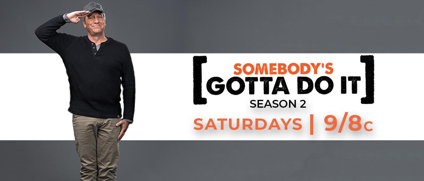 TBN Somebody's Gotta Do It Season 2 on Saturday