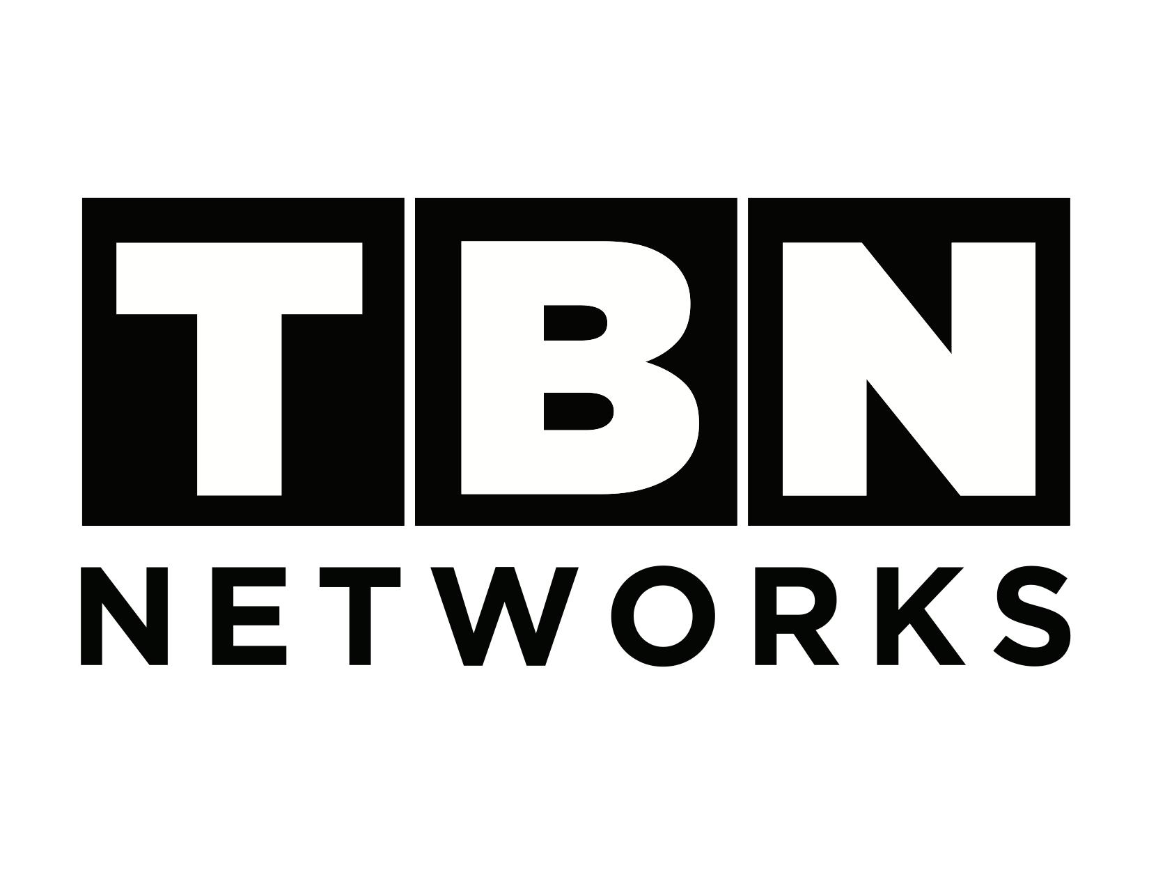 TBN Networks Black and White Logo