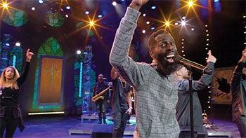 BREAKTHROUGH. Gospel artist Tye Tribbett hosted a special night of music and encouragement.